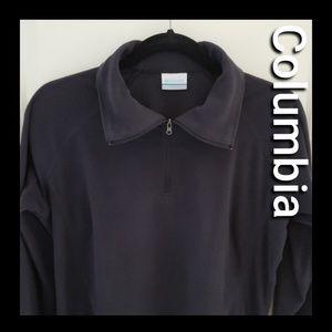 Columbia fleece top, size lage